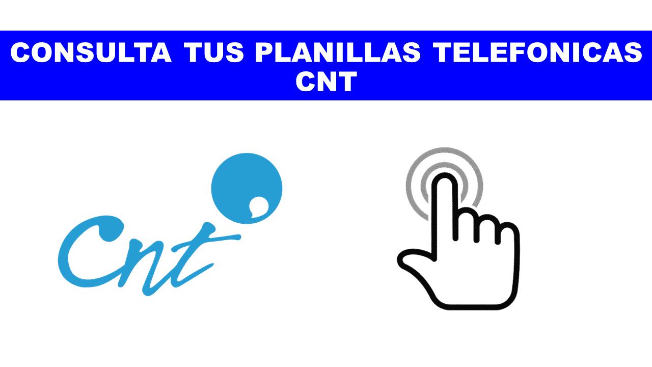 planilla CNT