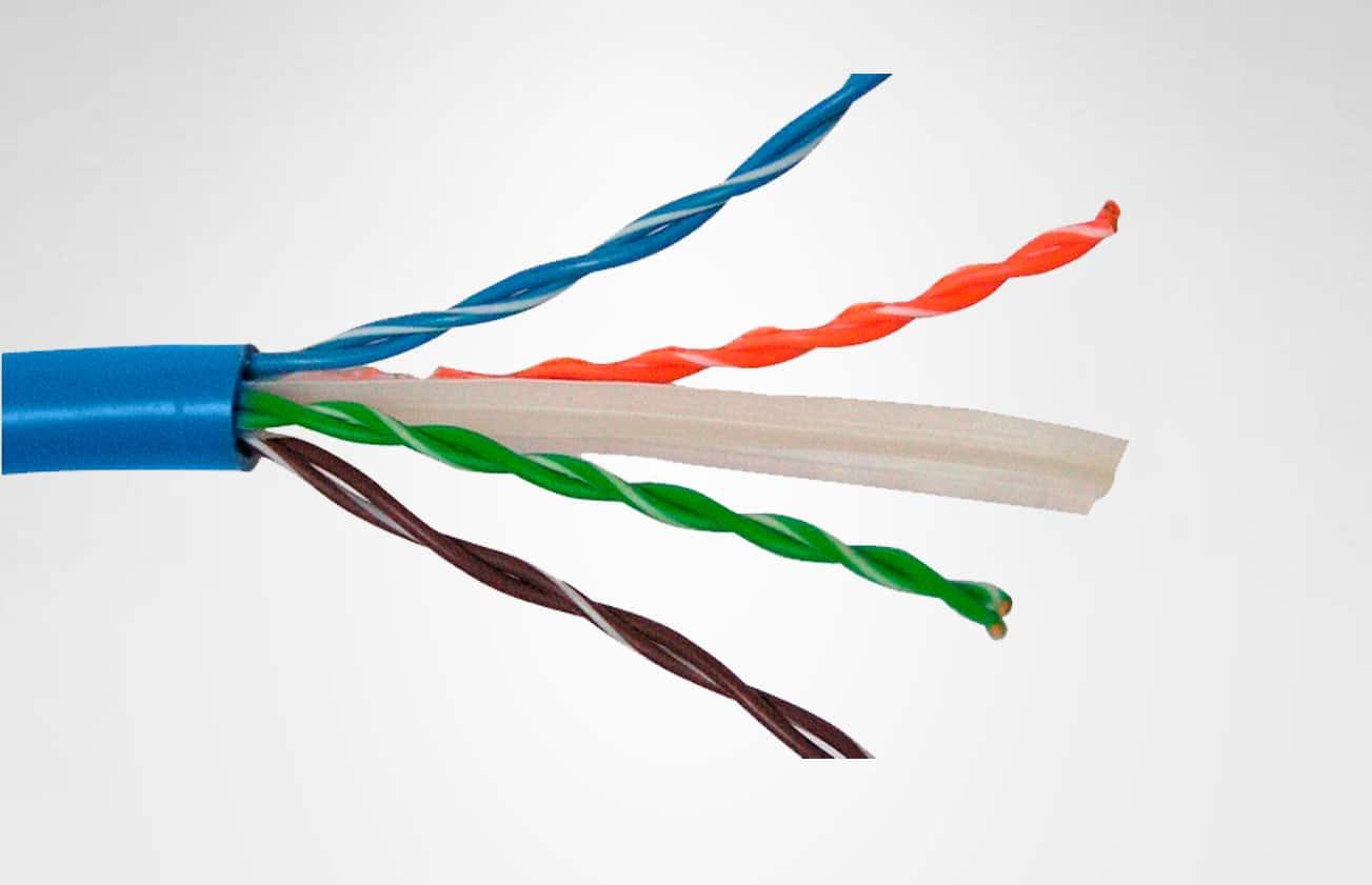 características del cable UTP