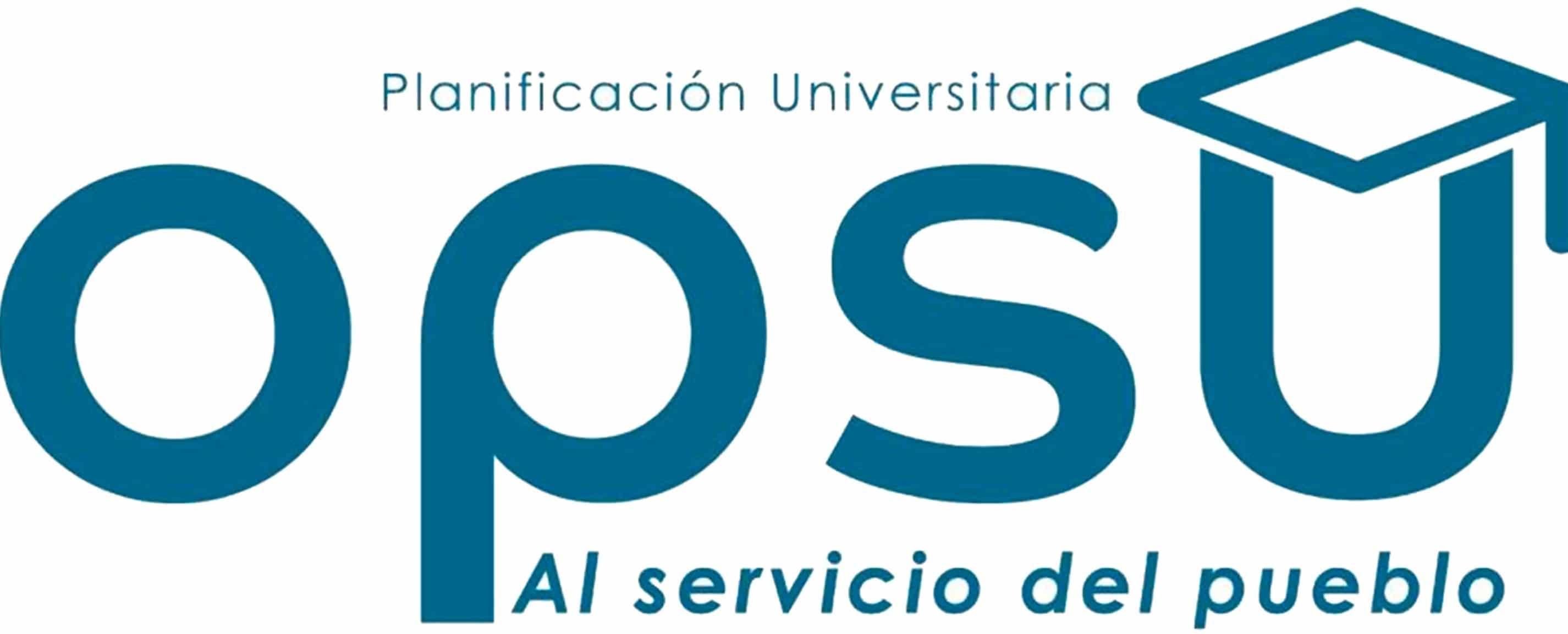 Planilla pra prueba de la OPSU