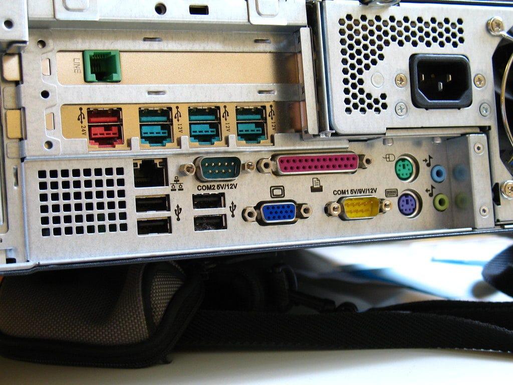 puertos de una computadora