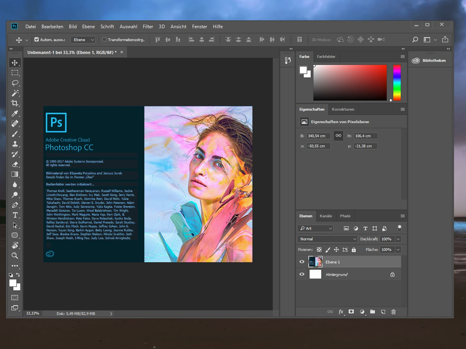 Requisitos para instalar Photoshop CC