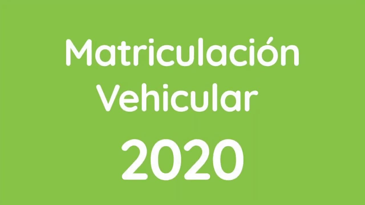 SRI matriculación vehicular nombre propietario