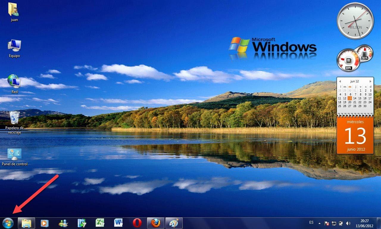 Caracteristicas de Microsoft Windows
