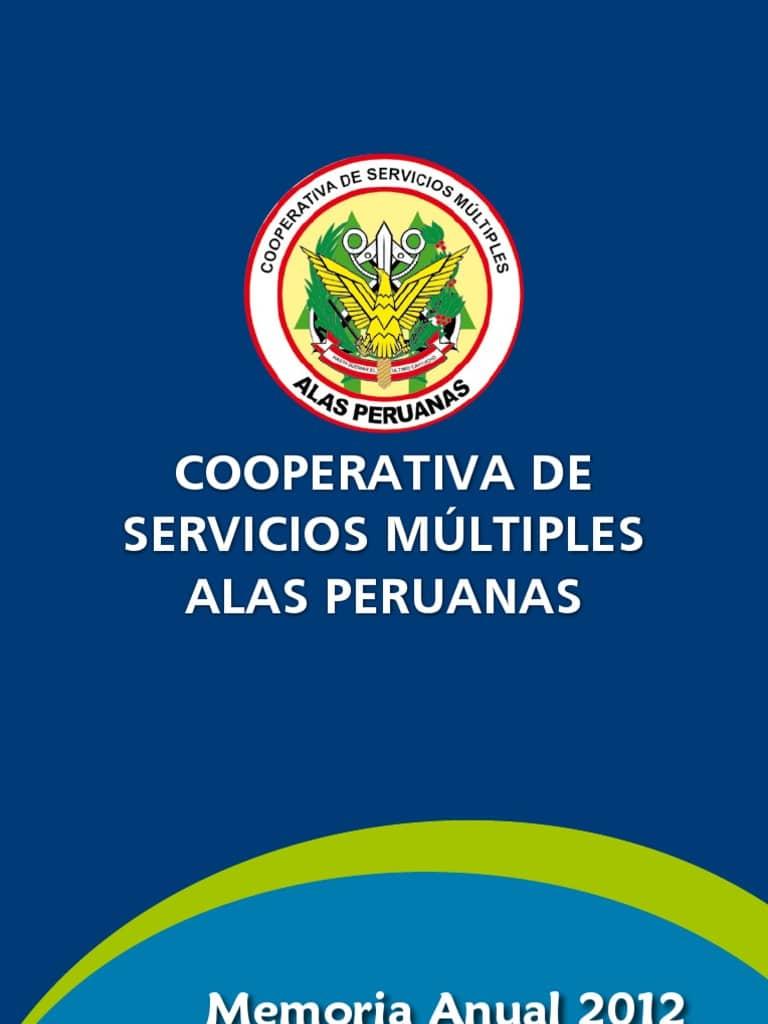 estado de cuenta cooperativa alas peruanas