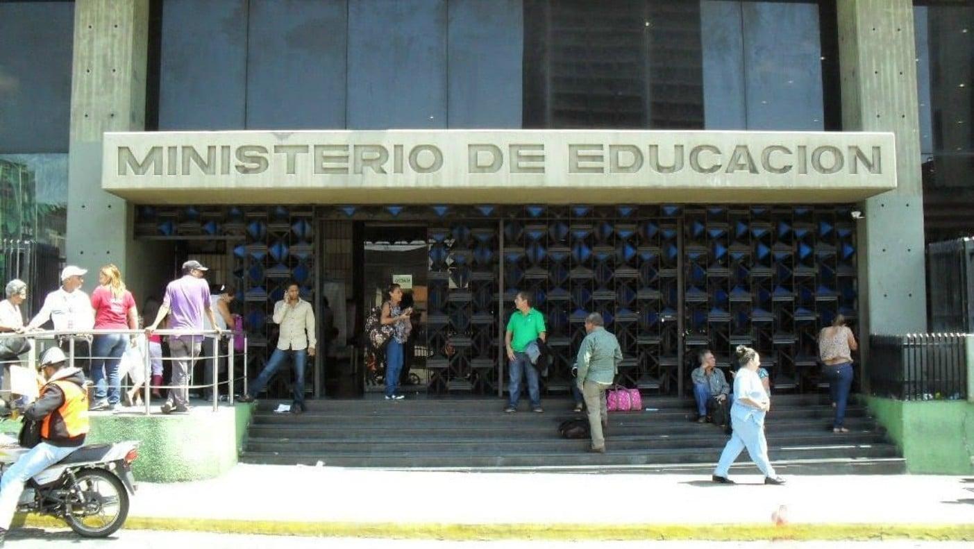 ministerio del poder popular para la educación oficina virtual