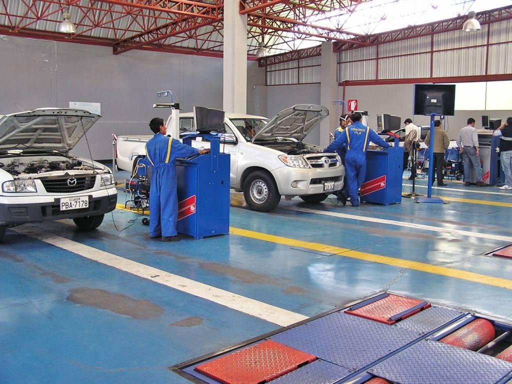 turno revisión vehicular guamani