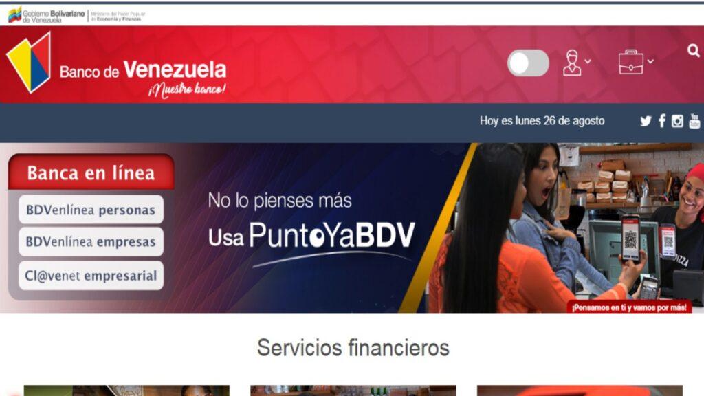 cuenta en dólares banco de venezuela
