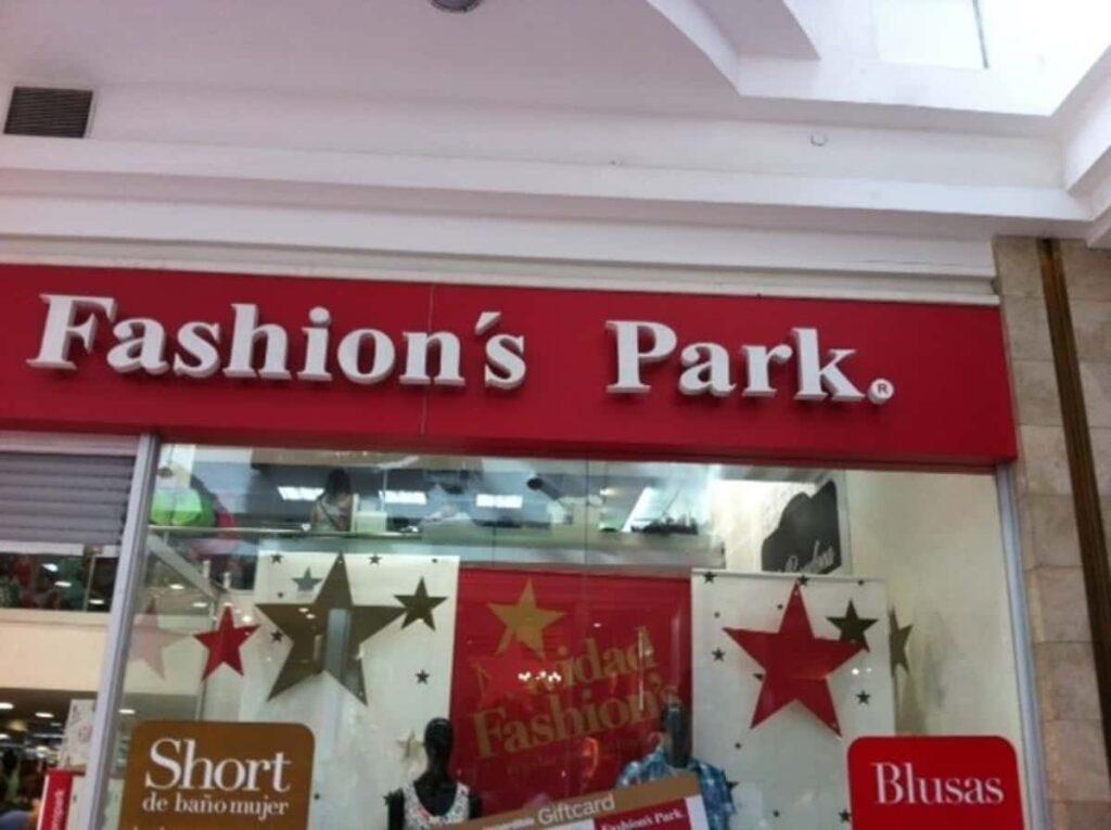 pagar fashion park online