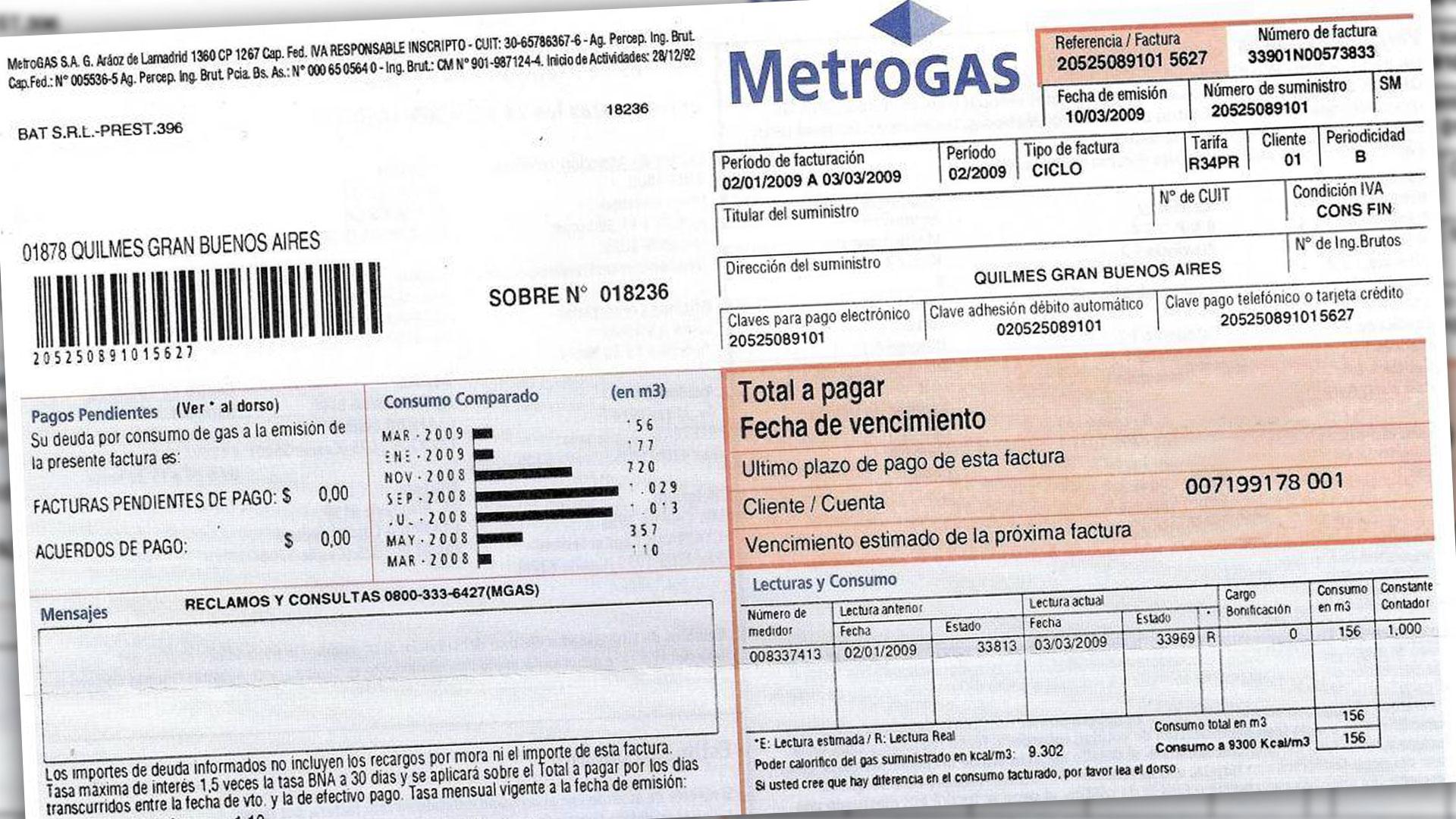 metrogas online