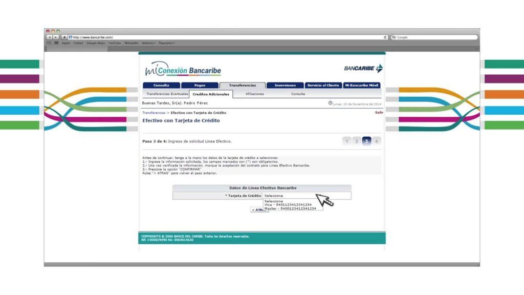 bancaribe en línea