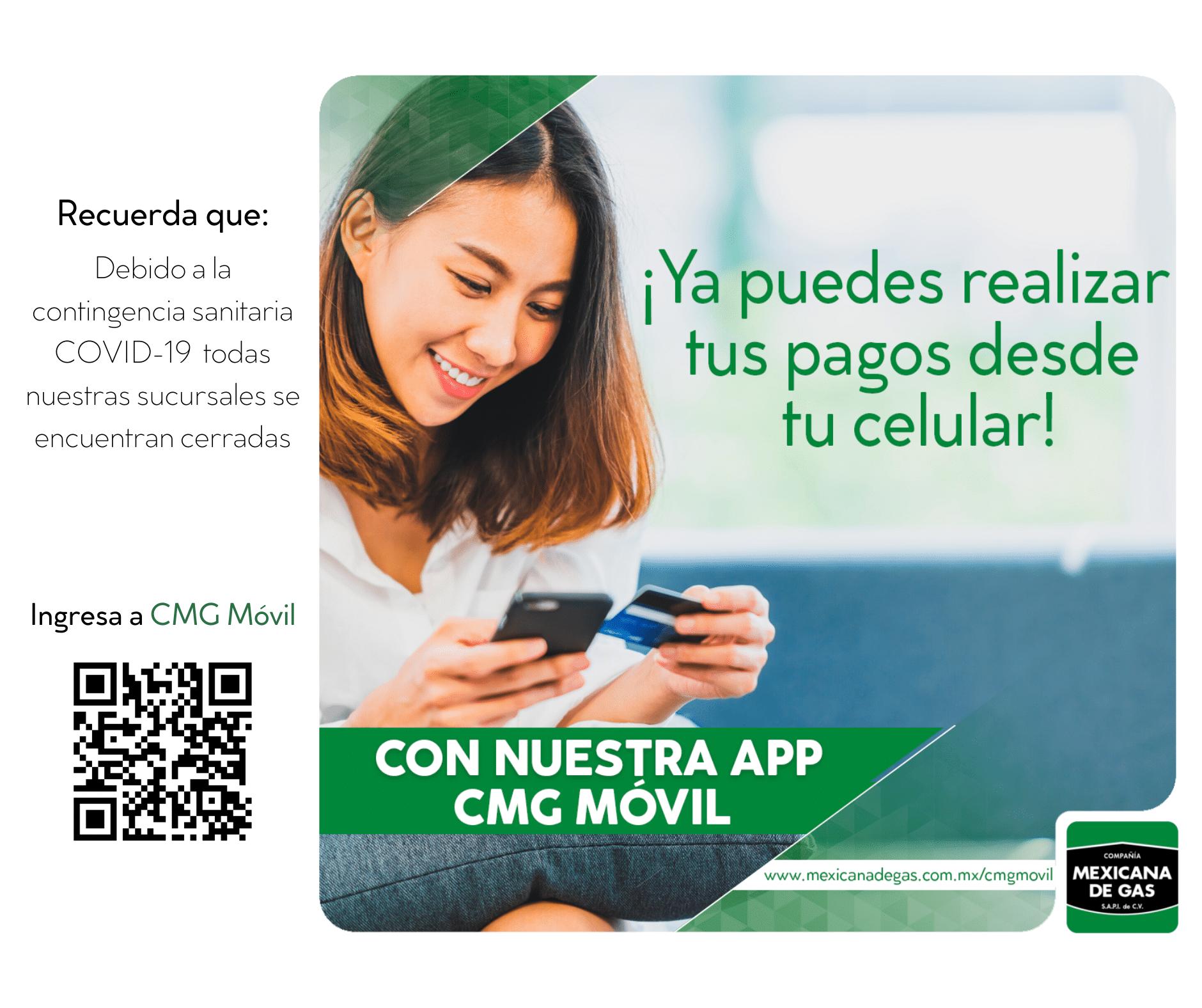 Consulta de recibo Compañía Mexicana de Gas