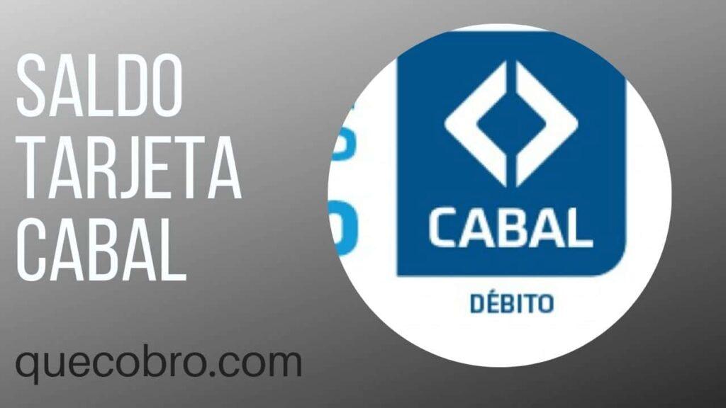 tarjeta Cabal