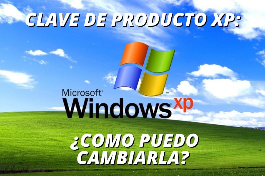 clave de producto xp